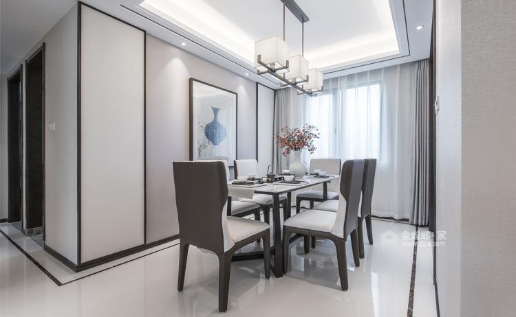 220平锦绣城新中式风格-超有温度的高品质生活!-餐厅效果图及设计说明