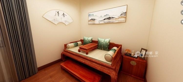 120平星纳家园新中式风格-中式复古,意味深远-卧室效果图及设计说明
