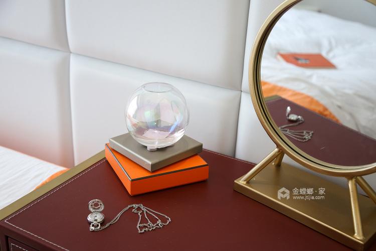 144平五坊园现代风格-黄浦江边,有你作伴,携手启程我们的旅途-卧室效果图及设计说明