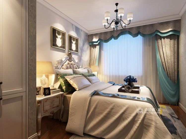 80平五浦汇地中海风格-别样演绎-卧室效果图及设计说明