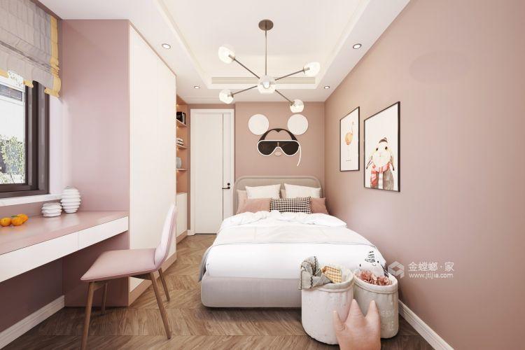 110平誉峰苑北欧风格-简单计划-儿童房