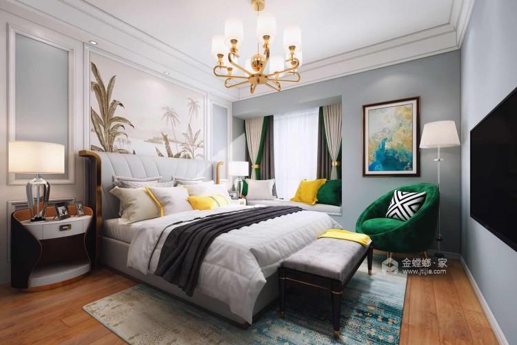 135平公园大道欧式风格-云端的风景-卧室效果图及设计说明