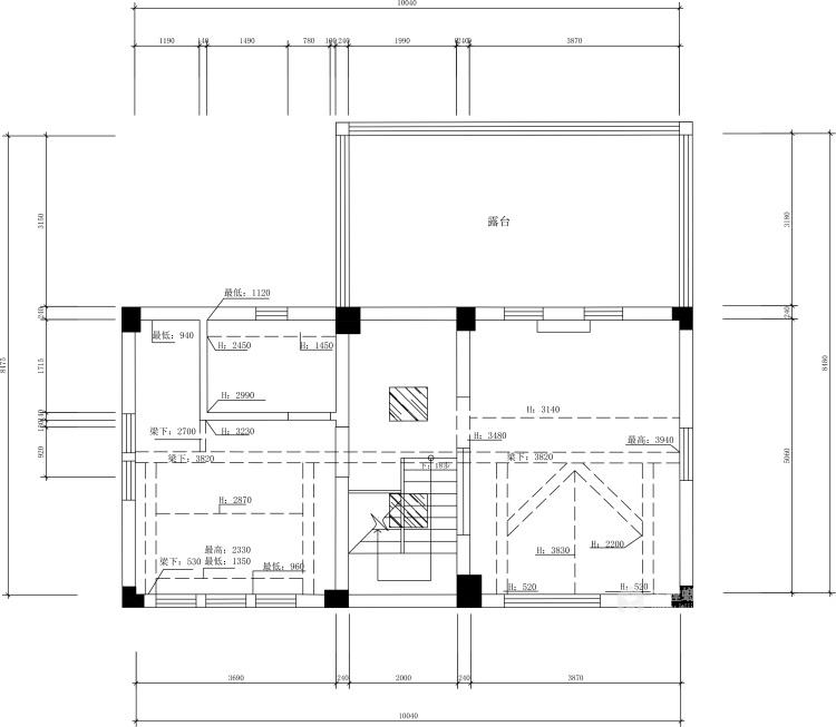 240平泽瑞西园北欧风格-无法忘怀的梦-业主需求&原始结构图