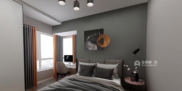 113平邦泰国际社区北欧风格-卧室效果图及设计说明
