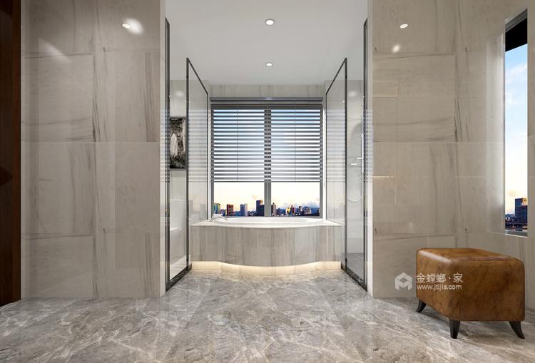 400平自建别墅新中式风格-生活·田间-卫生间