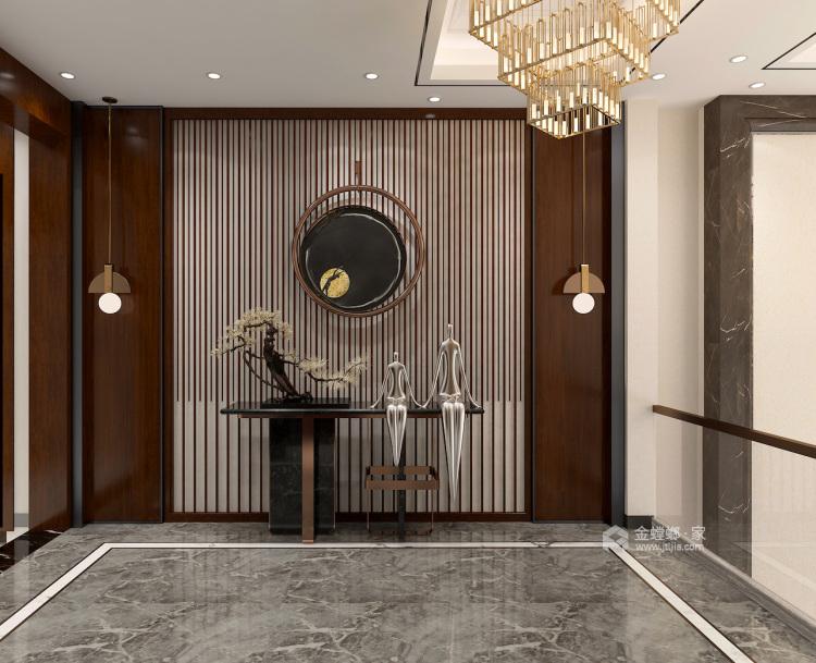 400平自建别墅新中式风格-生活·田间-玄关