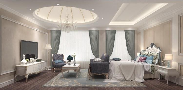 240平泽瑞西园北欧风格-无法忘怀的梦-卧室效果图及设计说明