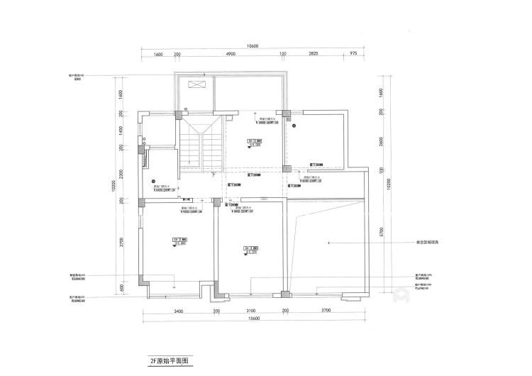 170平狮山原著现代风格-不多不少、刚刚好的现代简约-业主需求&原始结构图