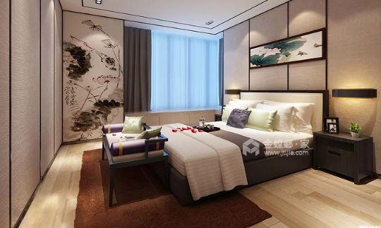 158平天空墅新中式风格-卧室效果图及设计说明