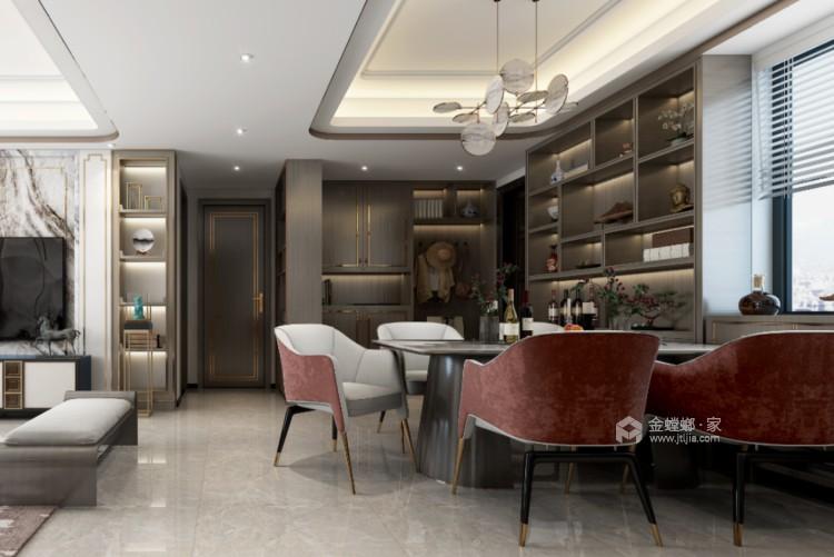119平望海领御新中式风格-静.雅-餐厅效果图及设计说明