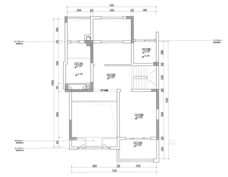 141平狮山原著简美风格-高级又耐看的简美轻奢-业主需求&原始结构图