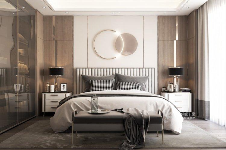 119平望海领御新中式风格-静.雅-卧室效果图及设计说明