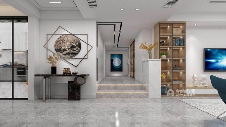 140平优山美地现代风格-幸福之家-餐厅效果图及设计说明