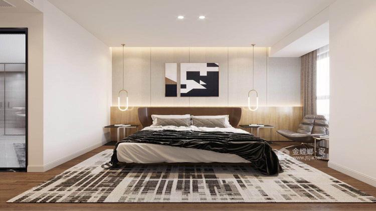140平优山美地现代风格-幸福之家-卧室效果图及设计说明