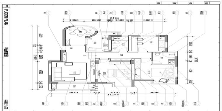 140平优山美地现代风格-幸福之家-平面设计图及设计说明