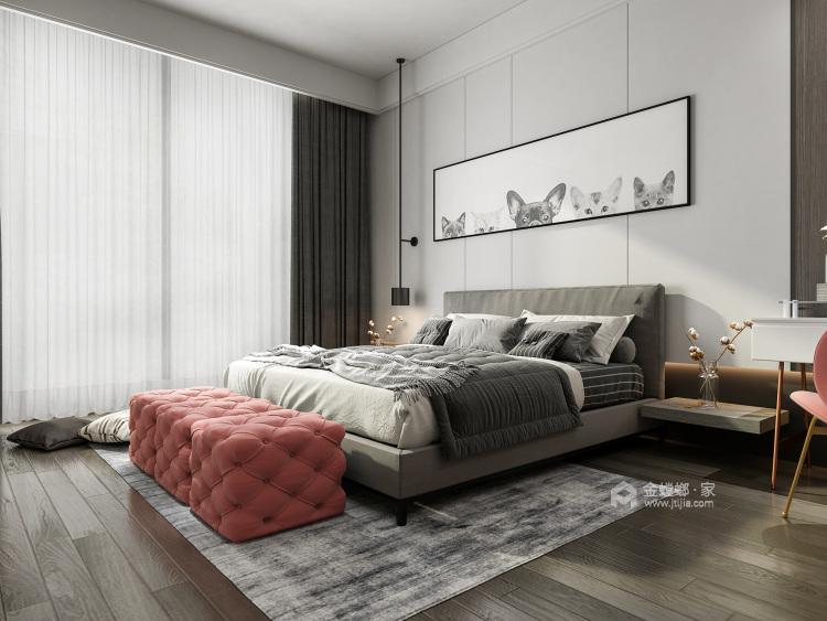 197平涵翠苑新中式风格-卧室效果图及设计说明