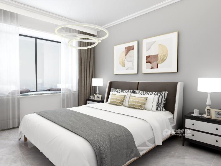 130平唐宫原著现代风格-灰度-卧室效果图及设计说明