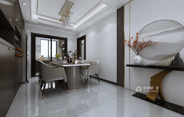 197平涵翠苑新中式风格-餐厅效果图及设计说明