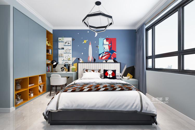 147平理想之城百合园现代风格-卧室效果图及设计说明