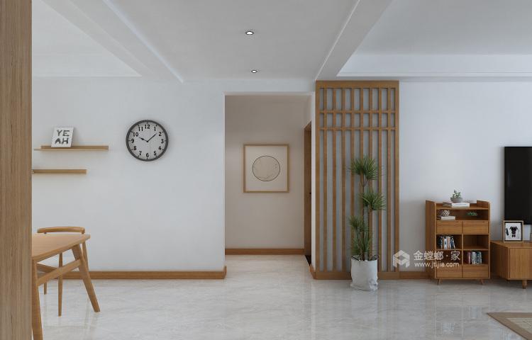 160平保利善园日式风格-经典案例-客厅效果图及设计说明