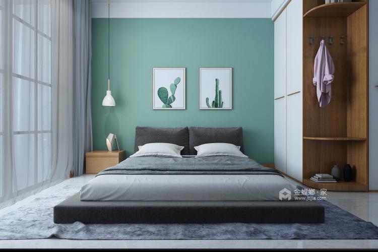 160平保利善园日式风格-经典案例-卧室效果图及设计说明