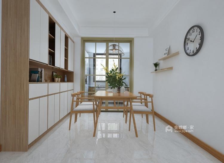 160平保利善园日式风格-经典案例-餐厅效果图及设计说明