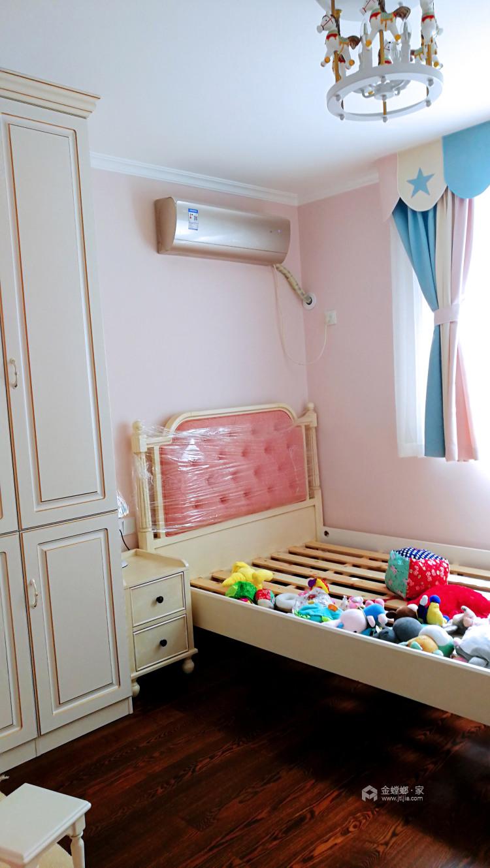 100平中心医院家属院简美风格-美宅一生-儿童房