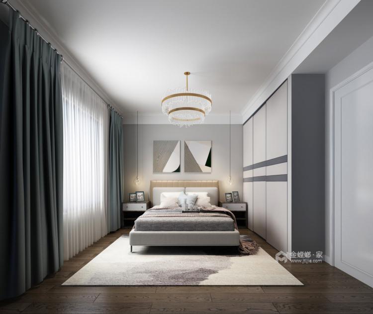 201平虹锦湾现代风格-静谧-卧室效果图及设计说明