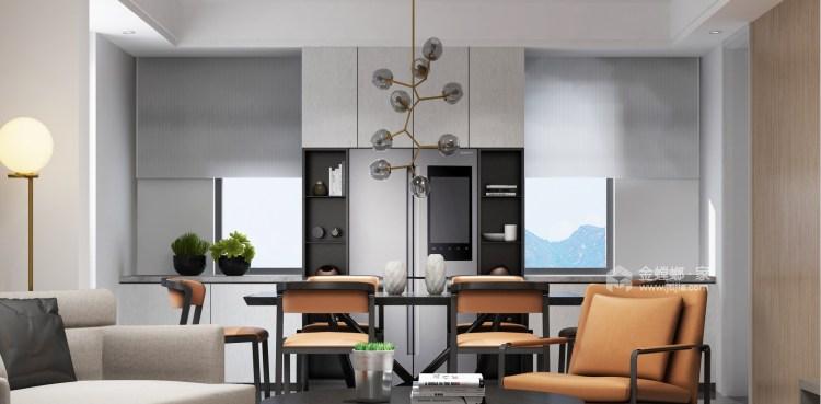 188平虹锦湾先点风格-生活多年的家-餐厅效果图及设计说明