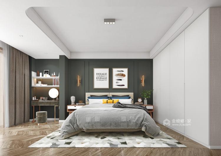 176平狮山御园北欧风格-岁月静好 生活余热-卧室效果图及设计说明