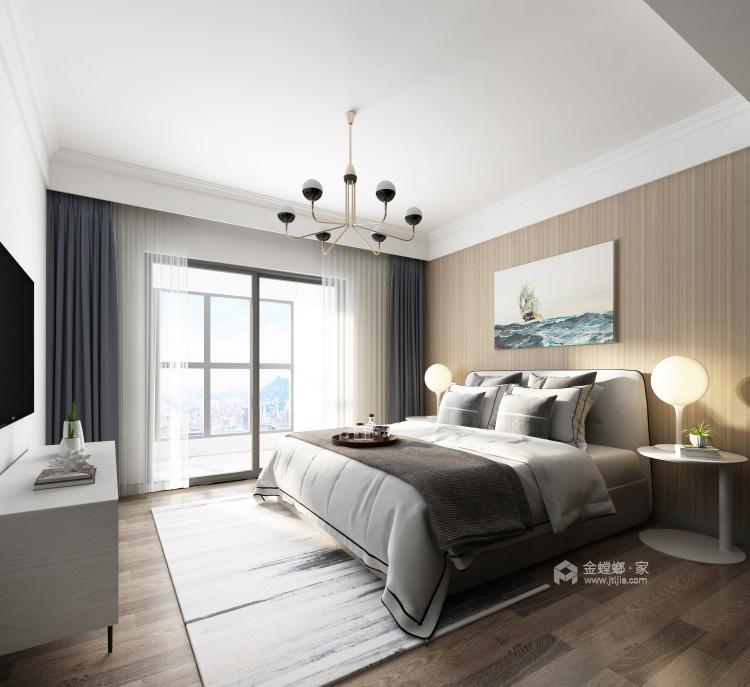 188平虹锦湾先点风格-生活多年的家-卧室效果图及设计说明