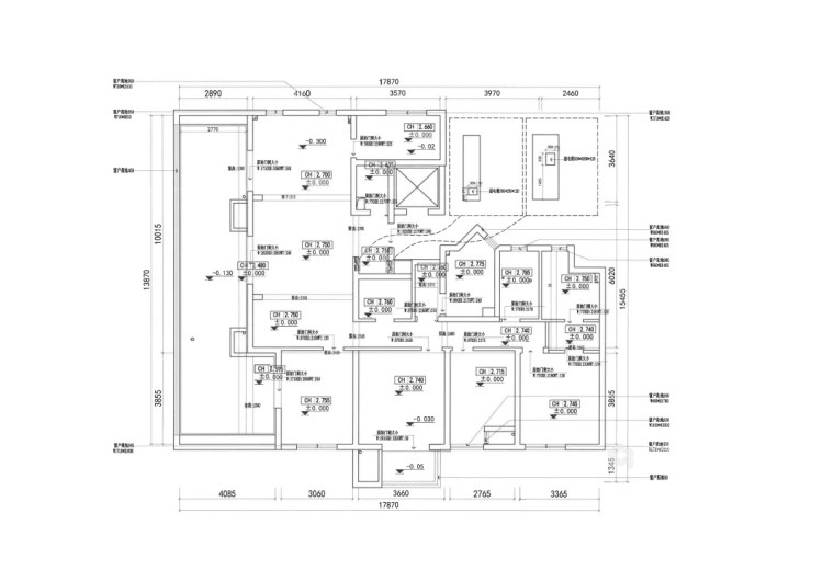 188平虹锦湾先点风格-生活多年的家-业主需求&原始结构图