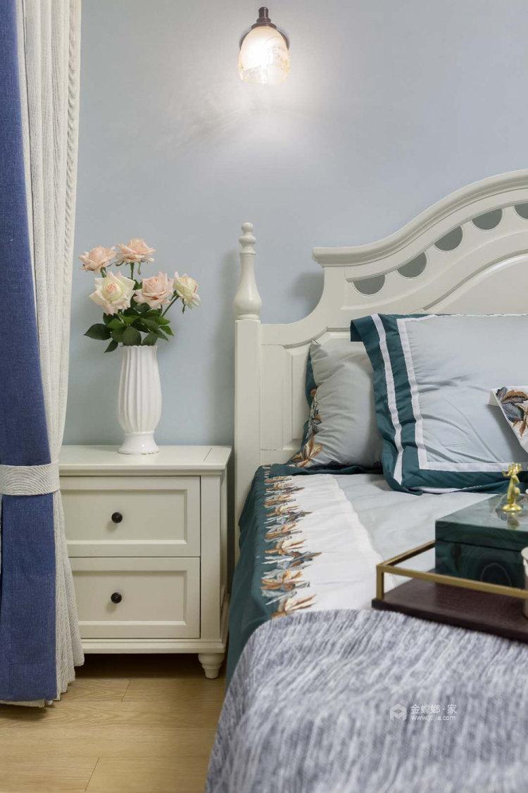 106平融侨观邸简美风格两居-卧室效果图及设计说明