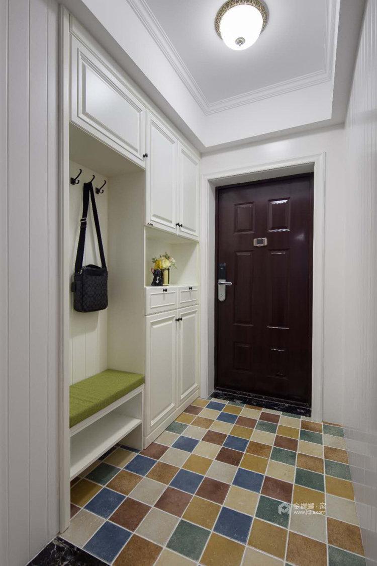 106平融侨观邸简美风格两居-玄关