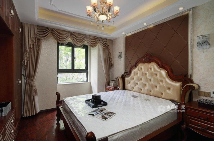 126平复地御钟山美式风格三居-卧室效果图及设计说明