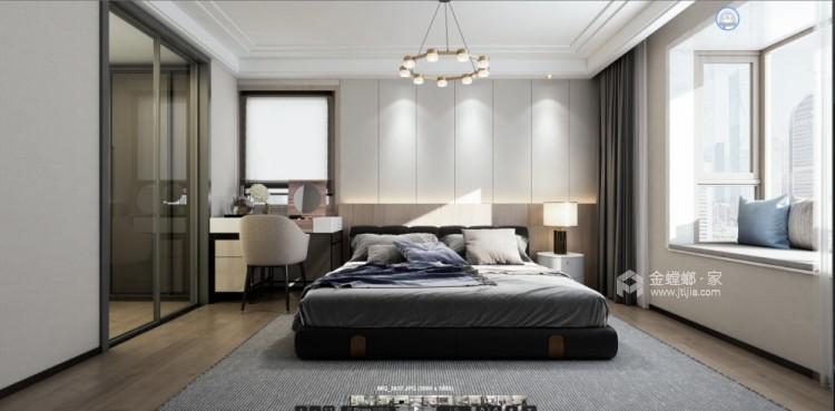 236平倚翠尚府现代风格-卧室效果图及设计说明