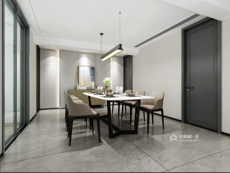 236平倚翠尚府现代风格-餐厅效果图及设计说明