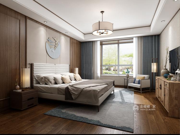 178平唐延九郡新中式风格-卧室效果图及设计说明