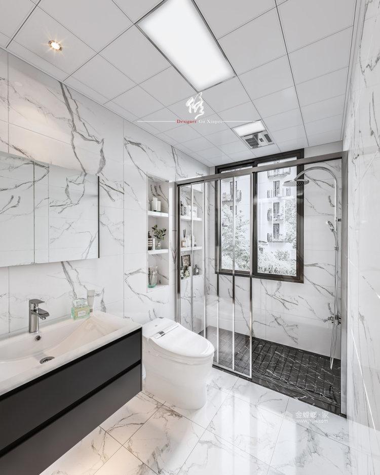 120平陽光公寓日式風格-衛生間