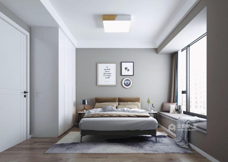 130平明发香山郡现代风格三居-卧室