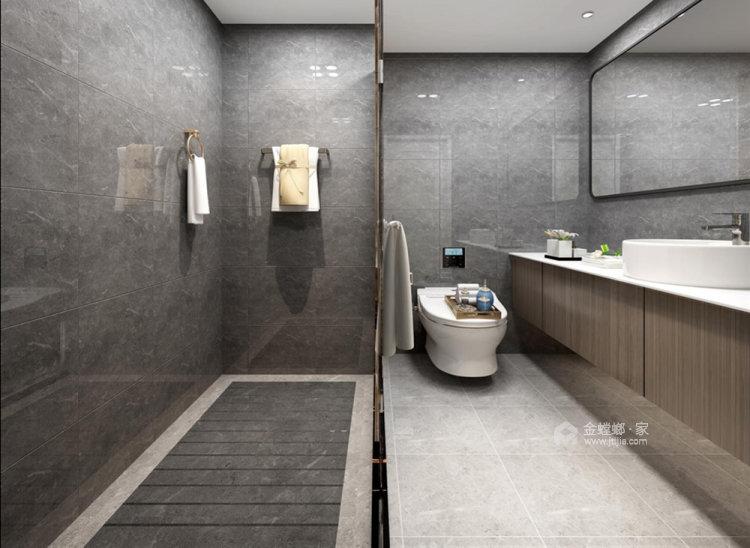 130平仙龙湾山庄现代风格四居-卫生间