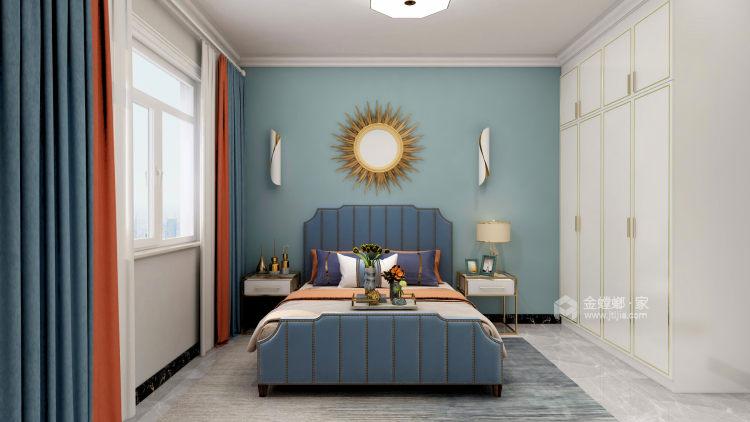 139平中央豪庭柿园简美风格-卧室效果图及设计说明