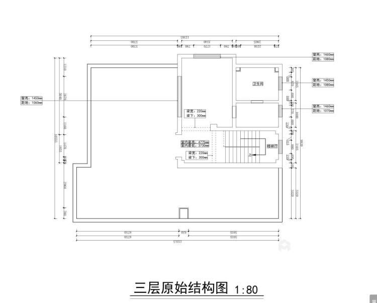 360平水城庄园新中式风格-业主需求&原始结构图