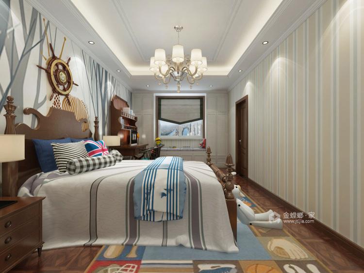 360平水城庄园新中式风格-卧室效果图及设计说明