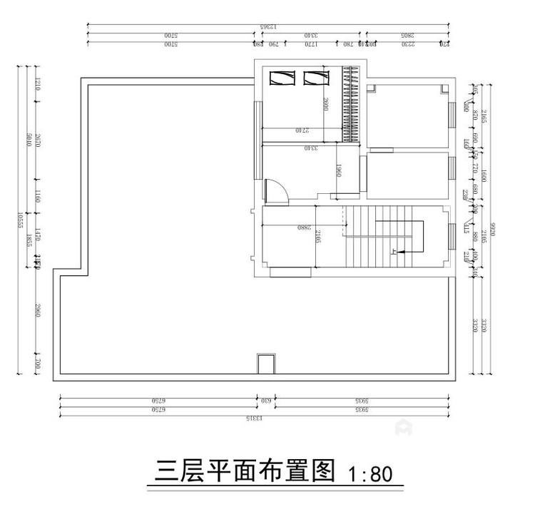360平水城庄园新中式风格-平面设计图及设计说明