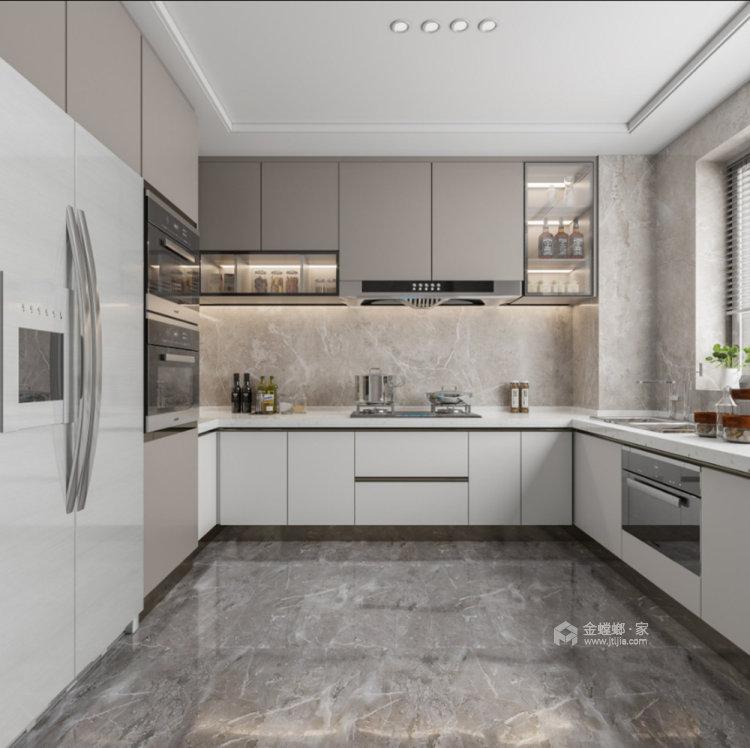 130平仙龙湾山庄现代风格四居-厨房