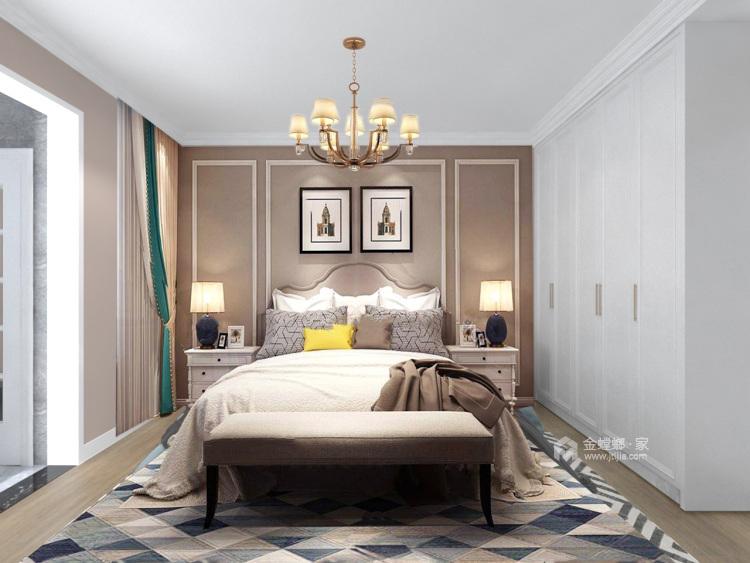 143平团结园简欧风格-卧室效果图及设计说明