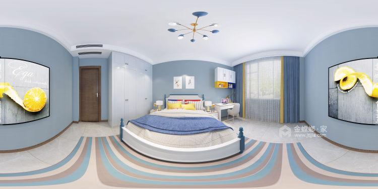300平白金瀚宫美式风格-卧室效果图及设计说明