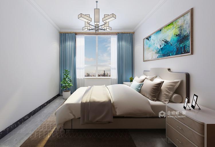130平锦绣新城新中式风格-卧室效果图及设计说明