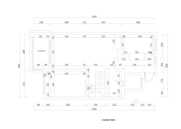 220平建发独墅湾现代风格-简单纯粹的雅致大宅-业主需求&原始结构图
